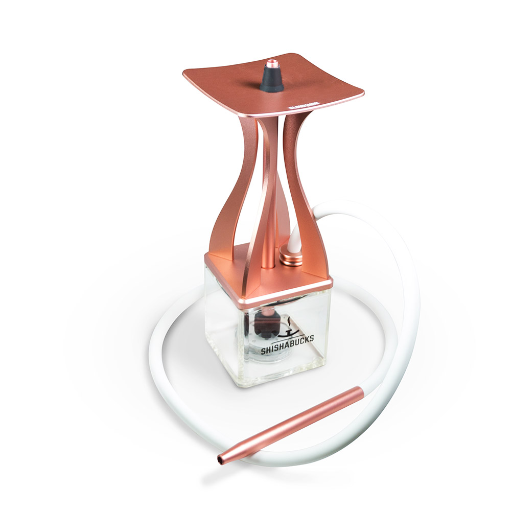 Rose Gold small hookah